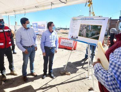 Lleva Gobernador más obra y apoyos para Pueblo Nuevo