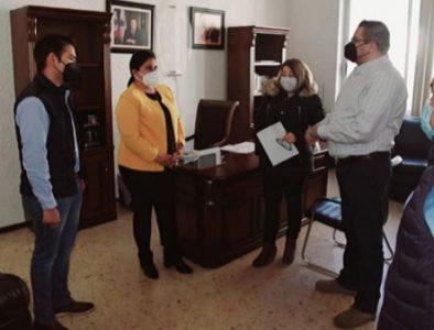 Alcaldesa de Nazas agradece atenciones del Instituto de Atención y Protección al Migrante