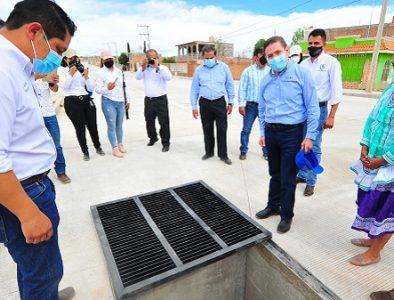 En Vicente Guerrero se invierten 100 mdp en obras y acciones: Aispuro