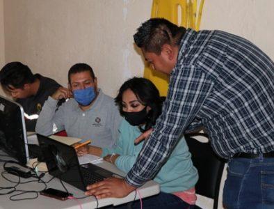 Personal de Protección Civil de Cuencamé recibe curso básico de computación