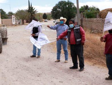 Inicia rehabilitación de camino rural en la comunidad La Virgen