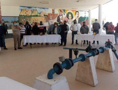 Cuencamé, sede de un curso impartido por Coprised