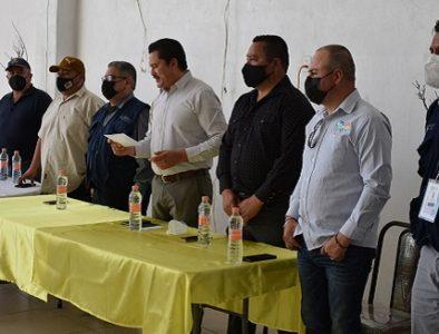 Coprised imparte curso de requisitos sanitarios para albercas y balnearios de Peñón Blanco