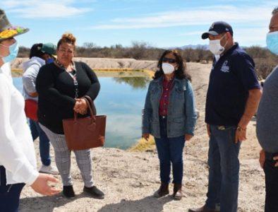 Supervisan condiciones de la laguna de oxidación de la comunidad Orizaba
