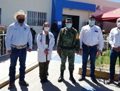 Supervisa Abel Santoyo avances de vacunación contra Covid-19 en Súchil