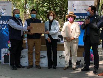 Entregan equipo al departamento de Cultura del Agua de Vicente Guerrero