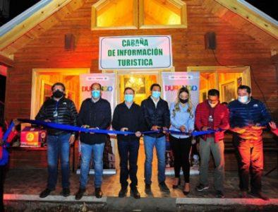 Inauguran Cabaña de Información en Pueblo Nuevo