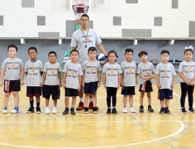 Concluye primer Campamento de Basquetbol infantil y juvenil de Poanas